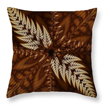 Grain Harvest Throw Pillow by Michelle H