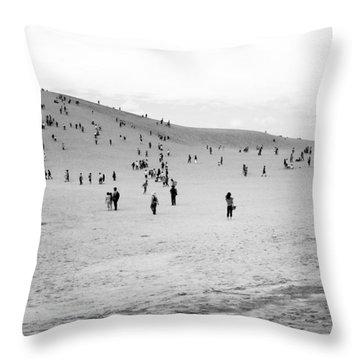 Grains Of Sand Throw Pillow