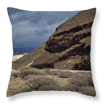 Granadilla De Abona Tenerife Throw Pillow by Marek Stepan
