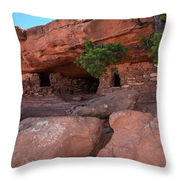 Granaries - 9697 Throw Pillow