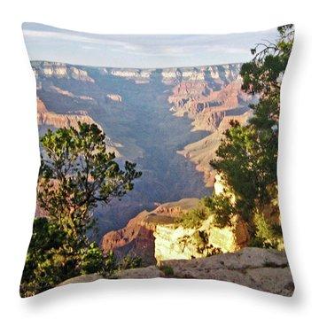 Grand Canyon No. 1 Throw Pillow