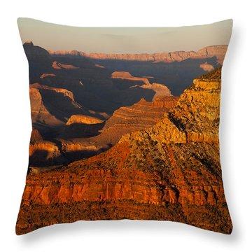 Grand Canyon 149 Throw Pillow