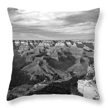 Grand Canyon No. 2-1 Throw Pillow by Sandy Taylor