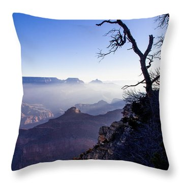 Throw Pillow featuring the photograph Grand Canyon 33 by Donna Corless