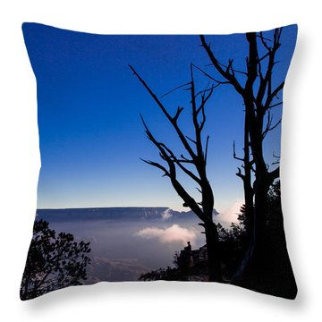 Throw Pillow featuring the photograph Grand Canyon 34 by Donna Corless