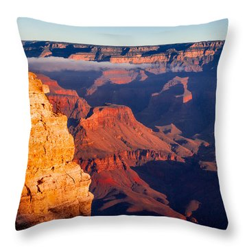 Throw Pillow featuring the photograph Grand Canyon 35 by Donna Corless