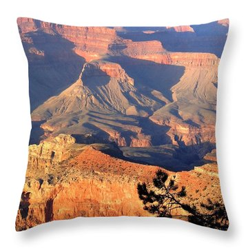 Grand Canyon 50 Throw Pillow by Will Borden