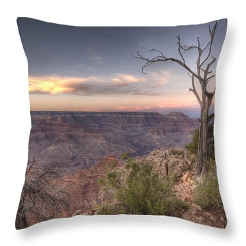 Grand Canyon 991 Throw Pillow