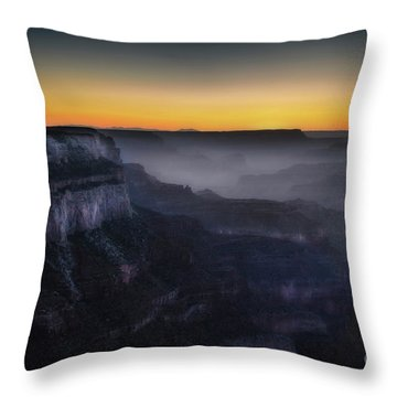 Grand Canyon At Twilight Throw Pillow by RicardMN Photography