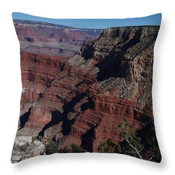 Grand Canyon Throw Pillow