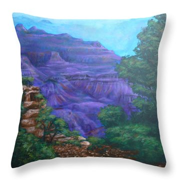 Grand Canyon Throw Pillow