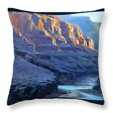 Grand Canyon Dawns Throw Pillow