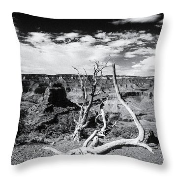 Grand Canyon Landscape Throw Pillow