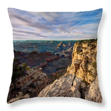 Grand Canyon National Park Spring Sunset Throw Pillow