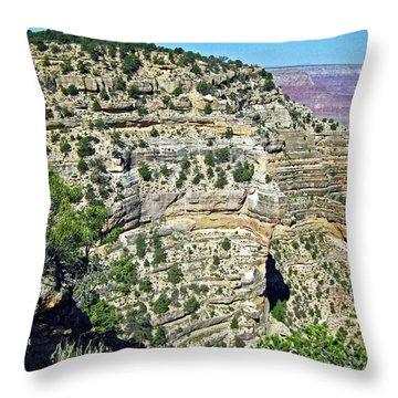 Grand Canyon No. 7-1 Throw Pillow