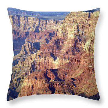 Throw Pillow featuring the photograph Grand Canyon South Rim by Norman Hall