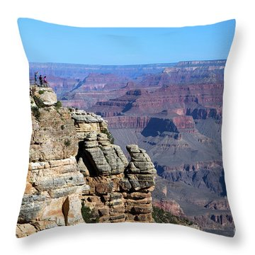 Grand Canyon South Rim Throw Pillow