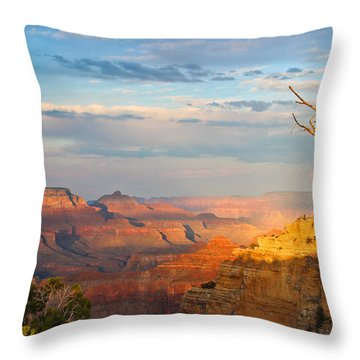 Grand Canyon Splendor Throw Pillow by Heidi Smith
