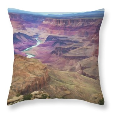 Grand Canyon Suite Throw Pillow
