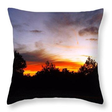 Grand Canyon Sunset Throw Pillow