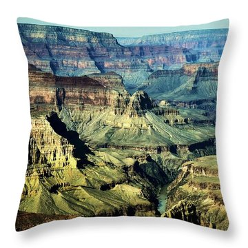 Grand Canyon West Rim Throw Pillow