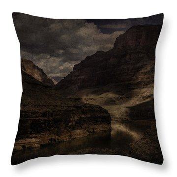 Throw Pillow featuring the photograph Grand Canyon - West Rim by Ryan Photography