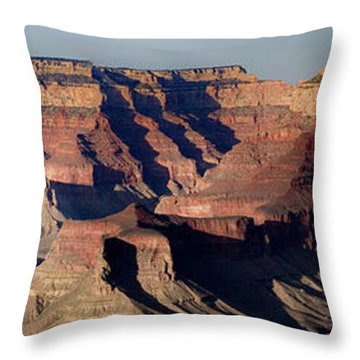 Grand Canyon Wide Throw Pillow