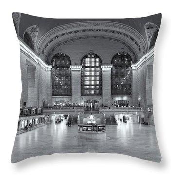 Grand Central Terminal II Throw Pillow