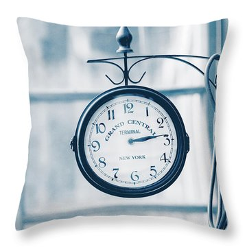 Grand Central Time 2 Throw Pillow