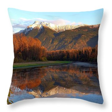 Mount Cheam, British Columbia Throw Pillow