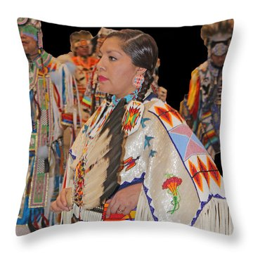 Grand Entry-4 Throw Pillow