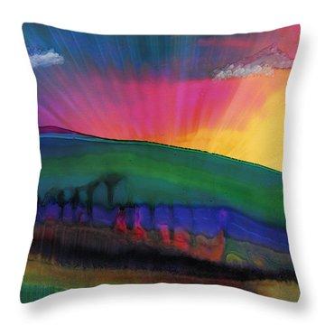 Grand Illusion Throw Pillow