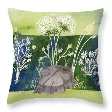 Grand Ladies Of The Field Throw Pillow
