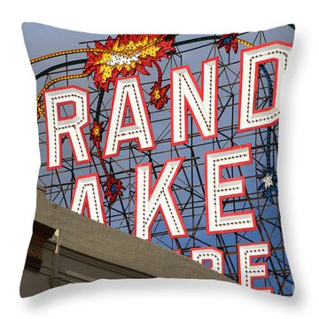 Grand Lake Theatre . Oakland California . 7d13495 Throw Pillow