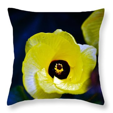 Throw Pillow featuring the photograph Grand Opening by Debbie Karnes