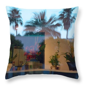 Grand Opening Throw Pillow by Stan Magnan