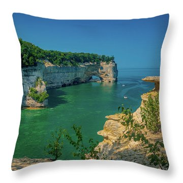 Grand Portal Point Throw Pillow