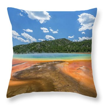 Grand Prismatic Throw Pillow
