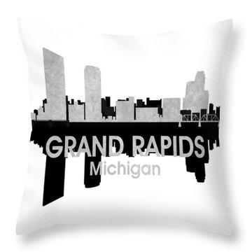 Grand Rapids Mi 4 Squared Throw Pillow