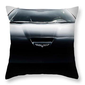 Grand Sport Corvette Throw Pillow by Douglas Pittman