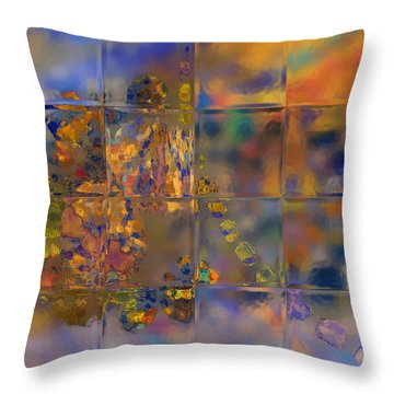 Grand Tiles Throw Pillow by Constance Krejci