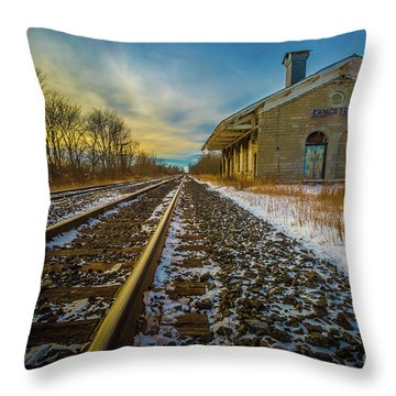 Grand Trunk Station  Throw Pillow