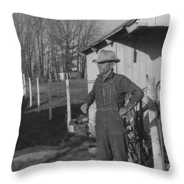 Granddaddy Clyde Throw Pillow