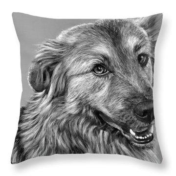 Granddog Kuper Throw Pillow