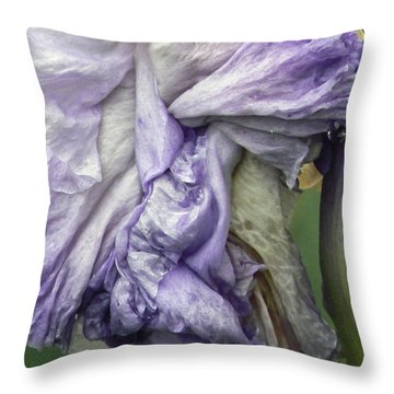 Grande Dame  Throw Pillow by Pamela Patch