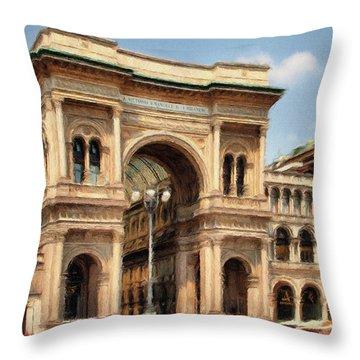 Grande Ingresso Throw Pillow by Jeff Kolker