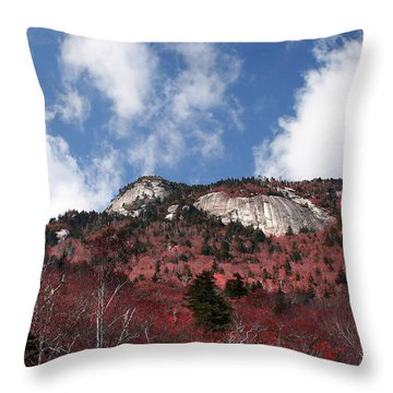 Grandfather Mountain East Side Throw Pillow