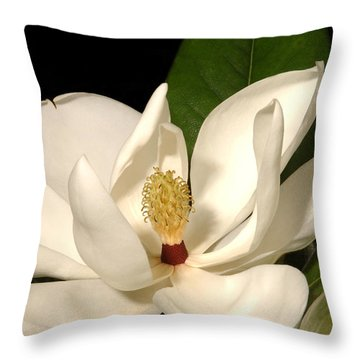 Grandiflora Throw Pillow