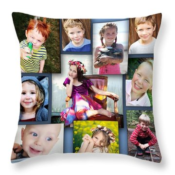 Grandkidz Throw Pillow