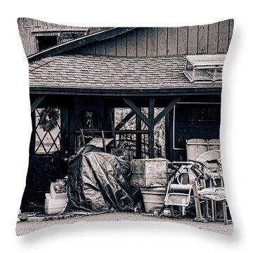 Grandma's Attic Throw Pillow